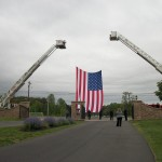 Flag Hoist Fallen Hero